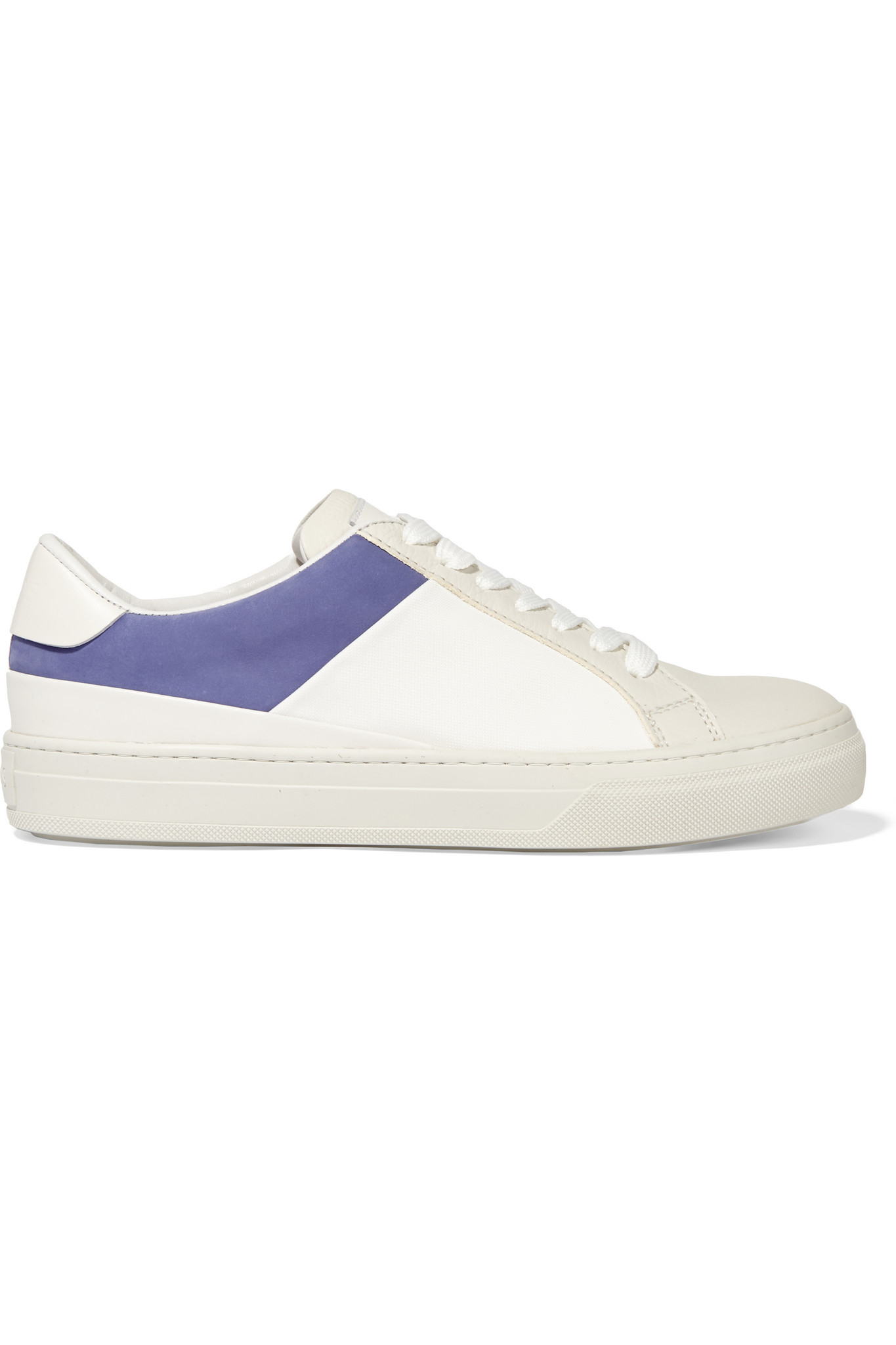 Lyst Tod's And LeatherNubuck White Piqué In Sneakers vm8Nnw0
