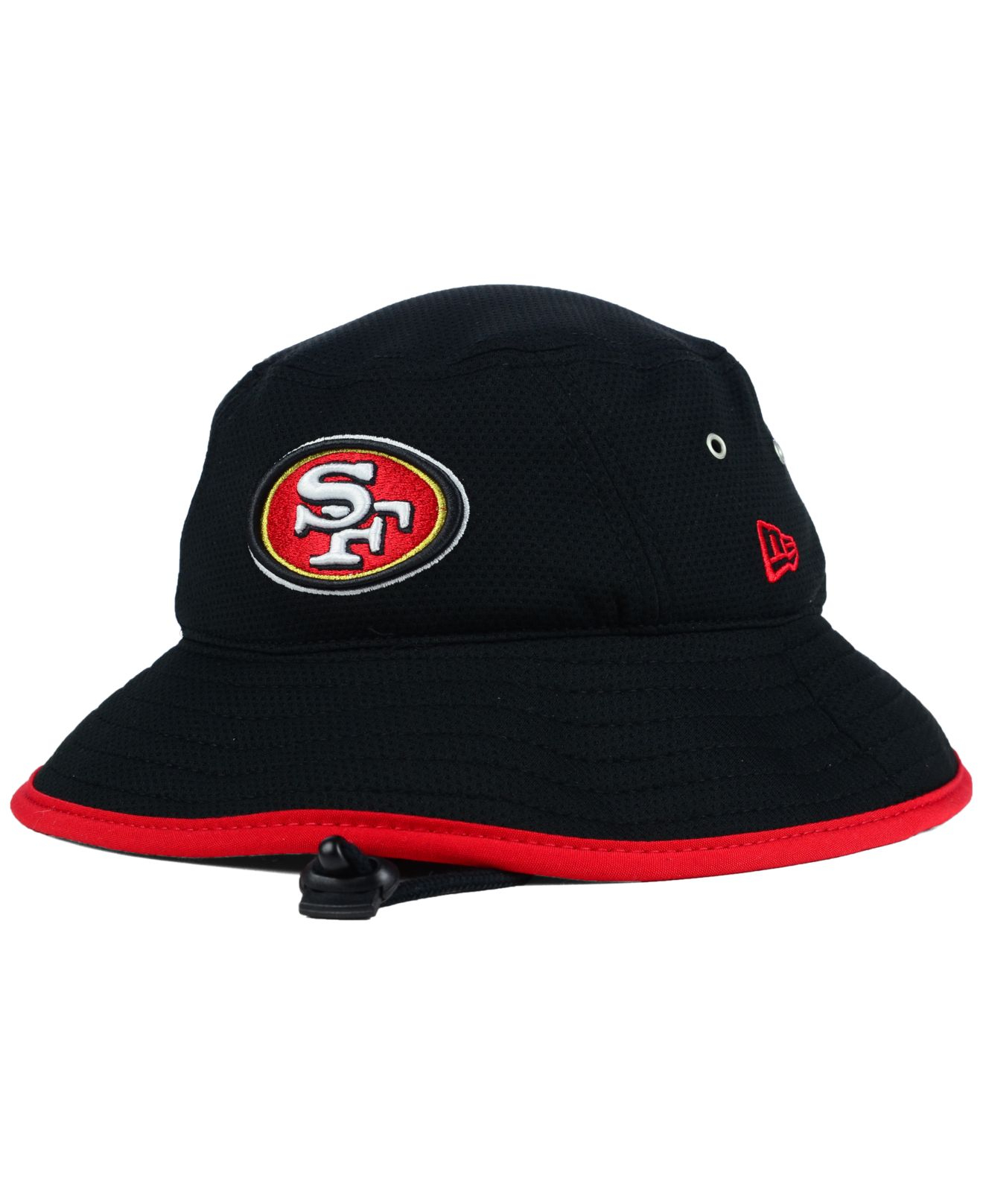 Lyst - KTZ San Francisco 49ers Training Bucket Hat in Black for Men 9bc9caa43e7