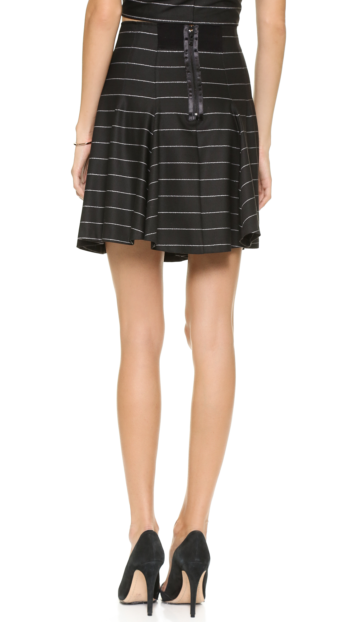 Alice   olivia Alice Olivia Pharl High Waist Fit Flare Skirt ...