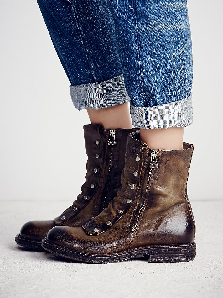 90ec1f1044ca2 Free People Jaq Boot in Green - Lyst
