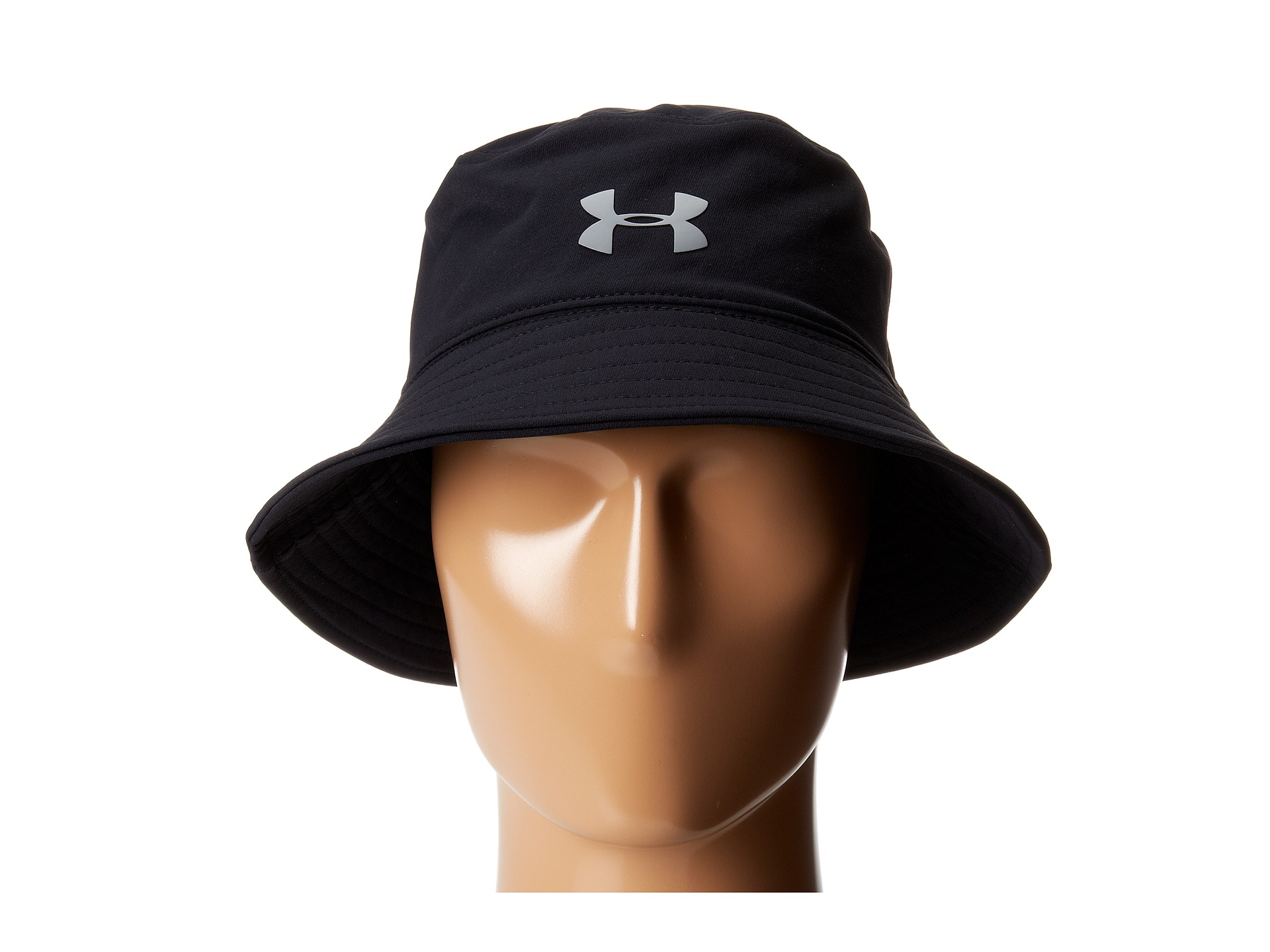 07c67ca7d8c22 best price under armor hats b96a5 23053  inexpensive lyst under armour ua  pack it bucket hat in black for men 0667c da7a1