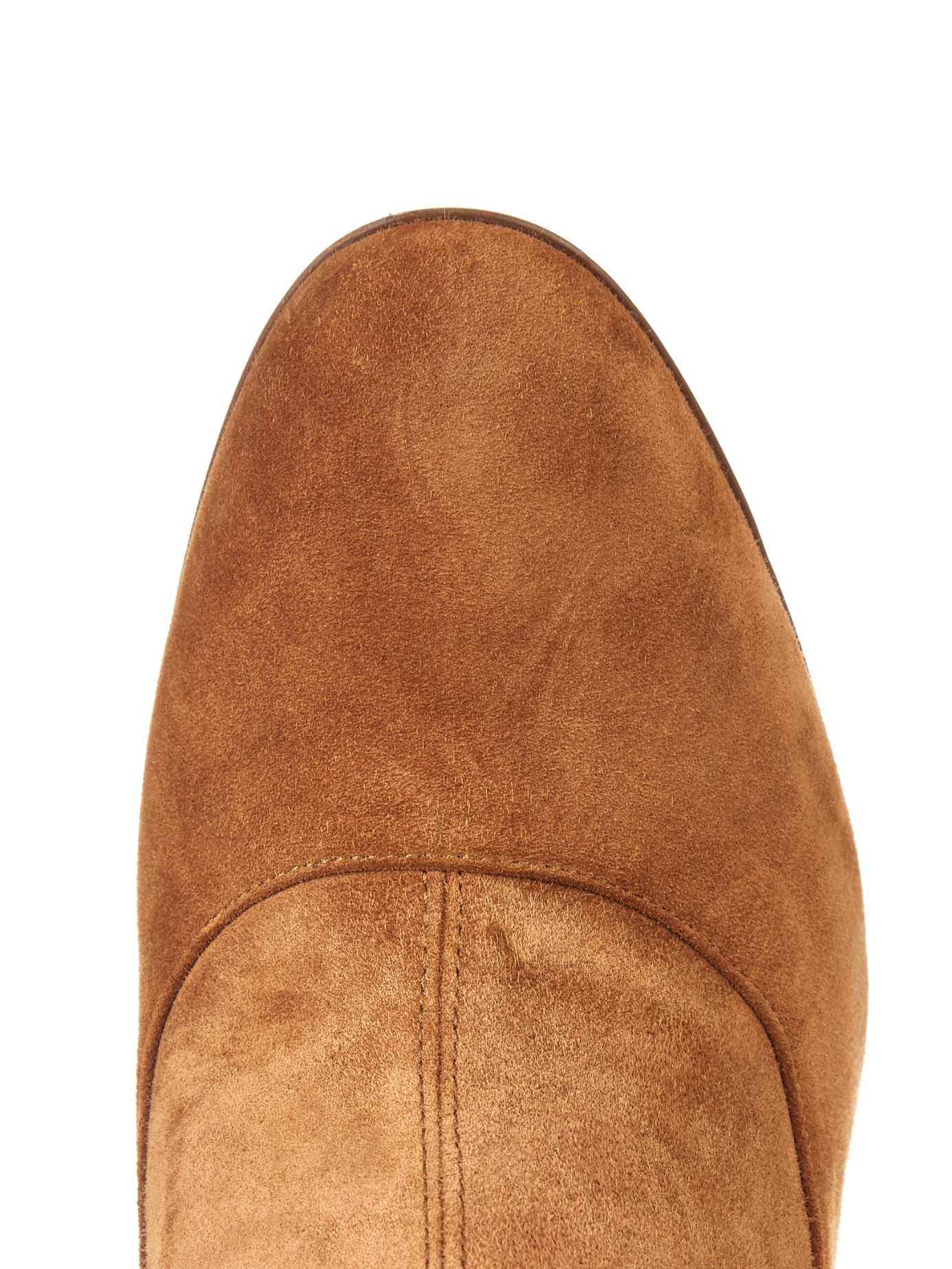Lyst Sergio Rossi Stretch Suede And Snakeskin Over The