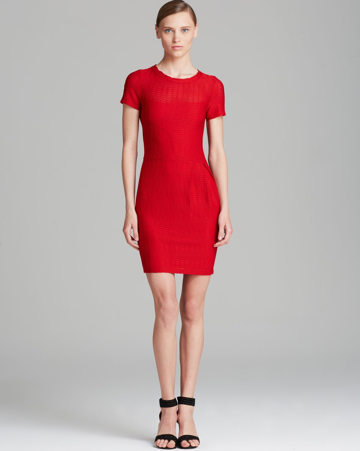 Nanette lepore Dress Cliff Hanger in Red | Lyst