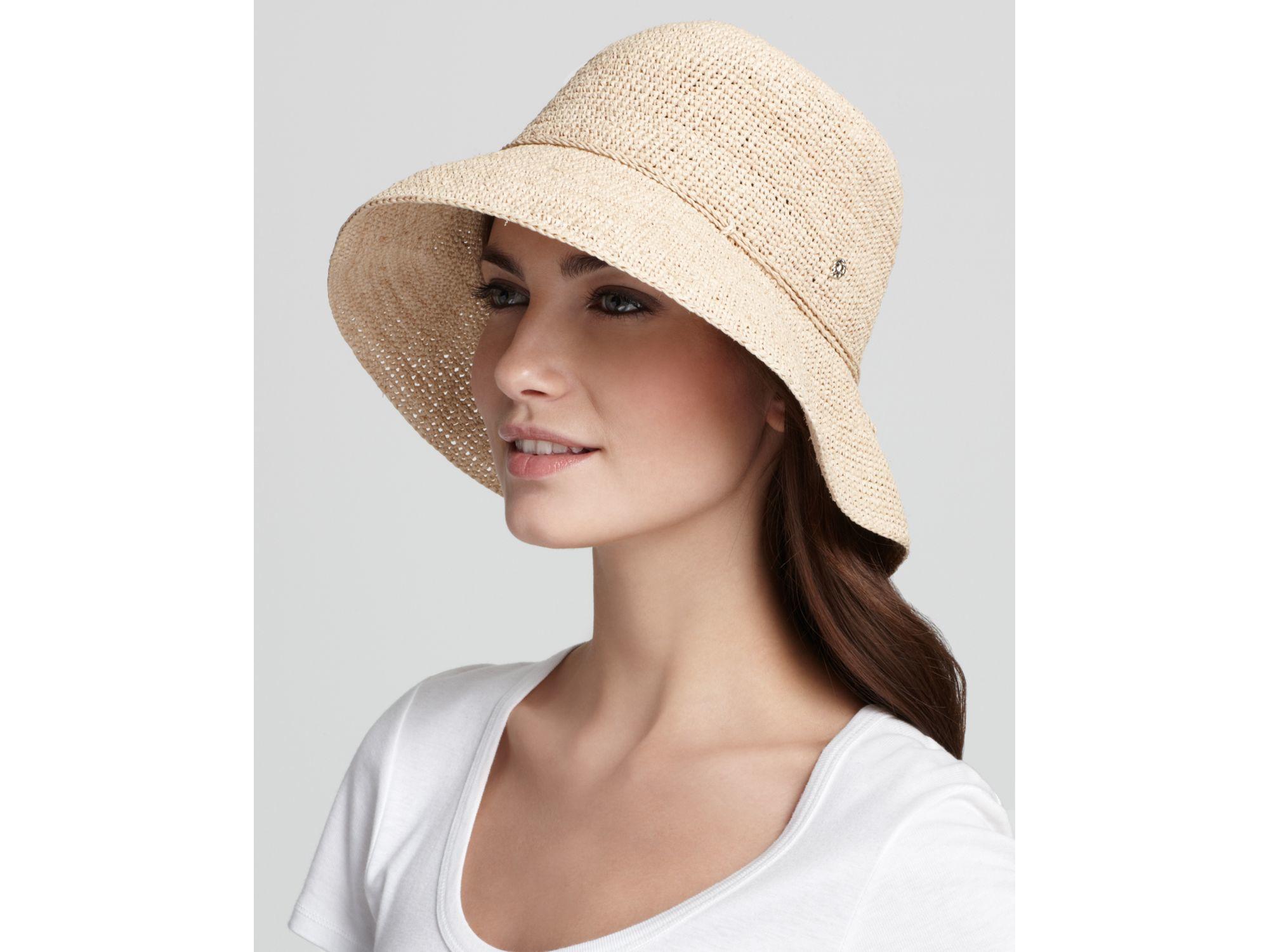 Lyst - Helen Kaminski Provence 8 Raffia Hat in Natural eefdc6791b10