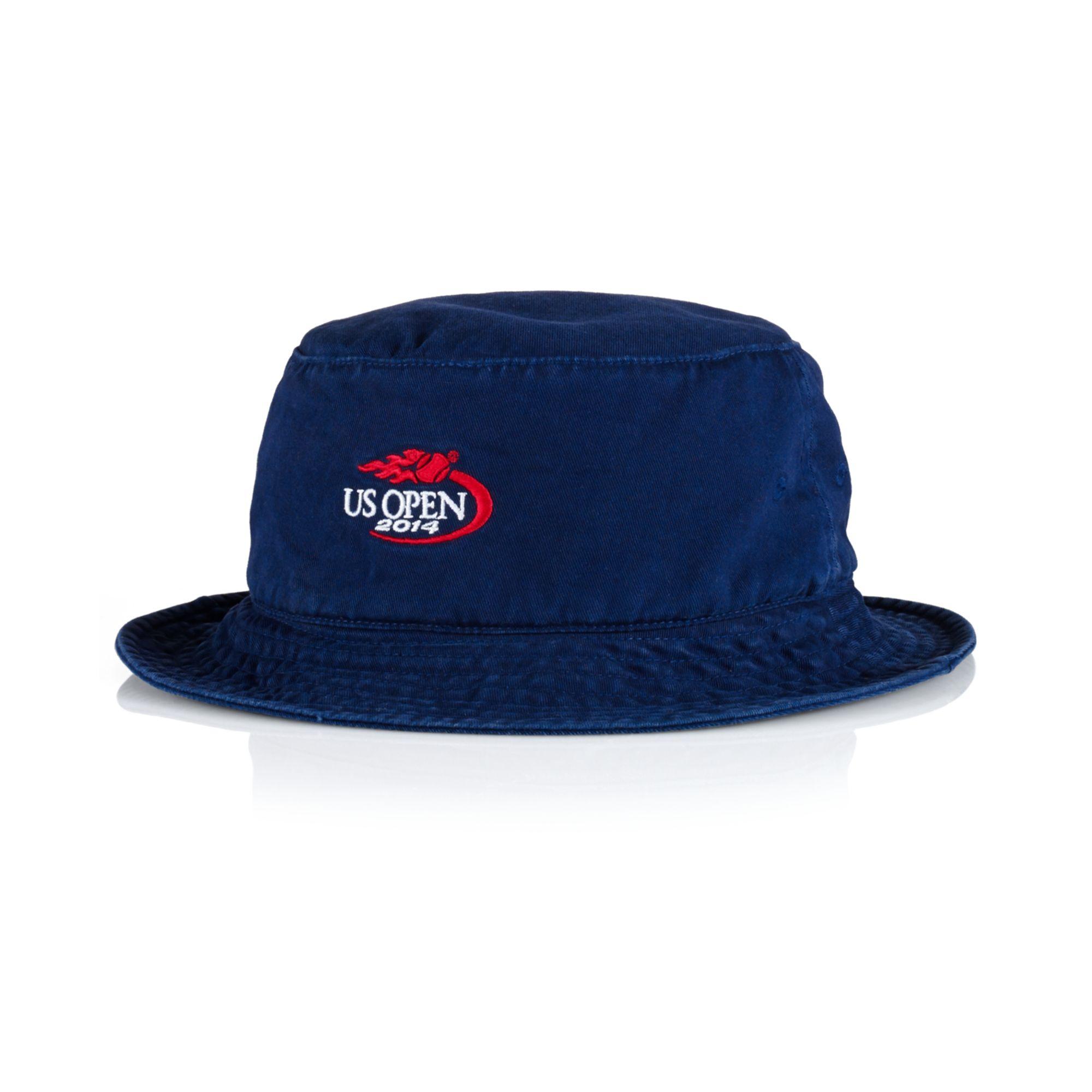 Lyst Ralph Lauren Polo Us Open Bucket Hat In Blue For Men