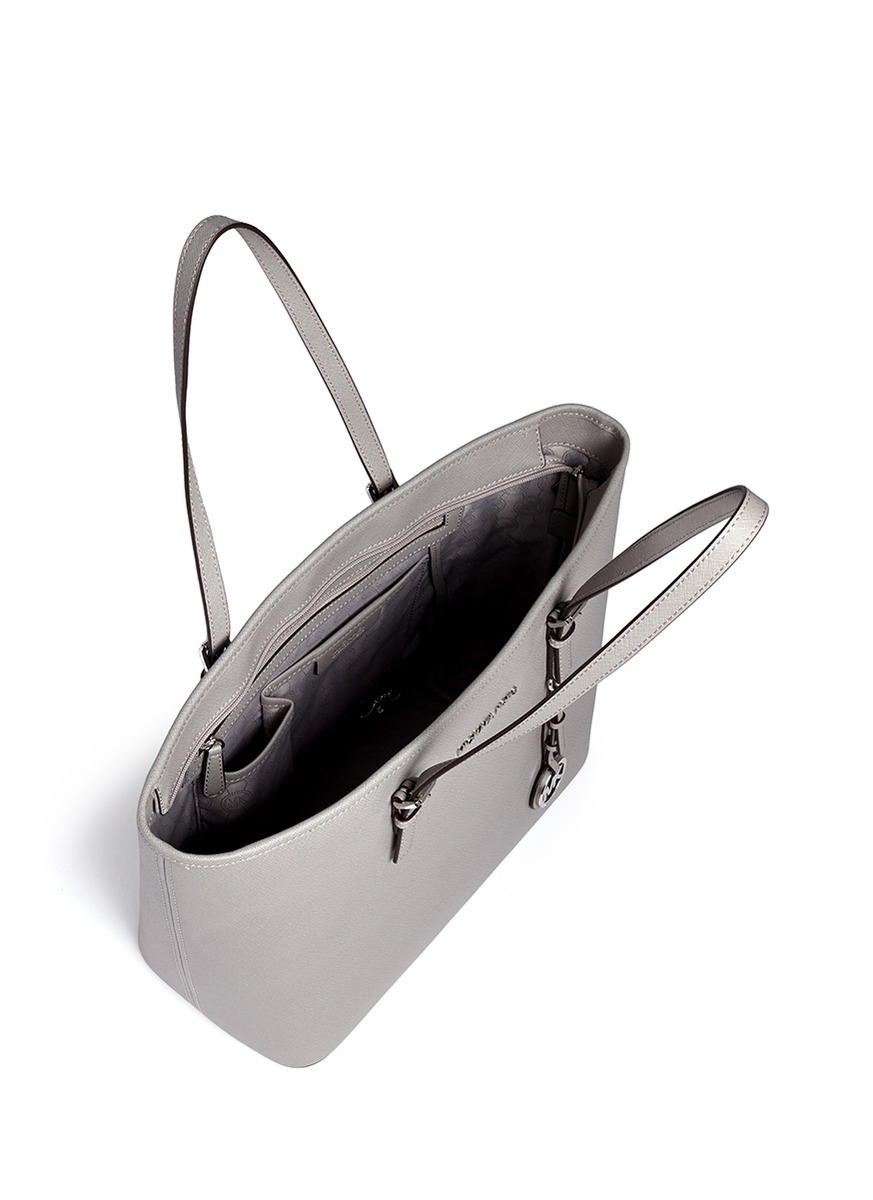 Michael Kors Jet Set Travel Käsilaukku : Michael kors jet set travel saffiano leather top zip