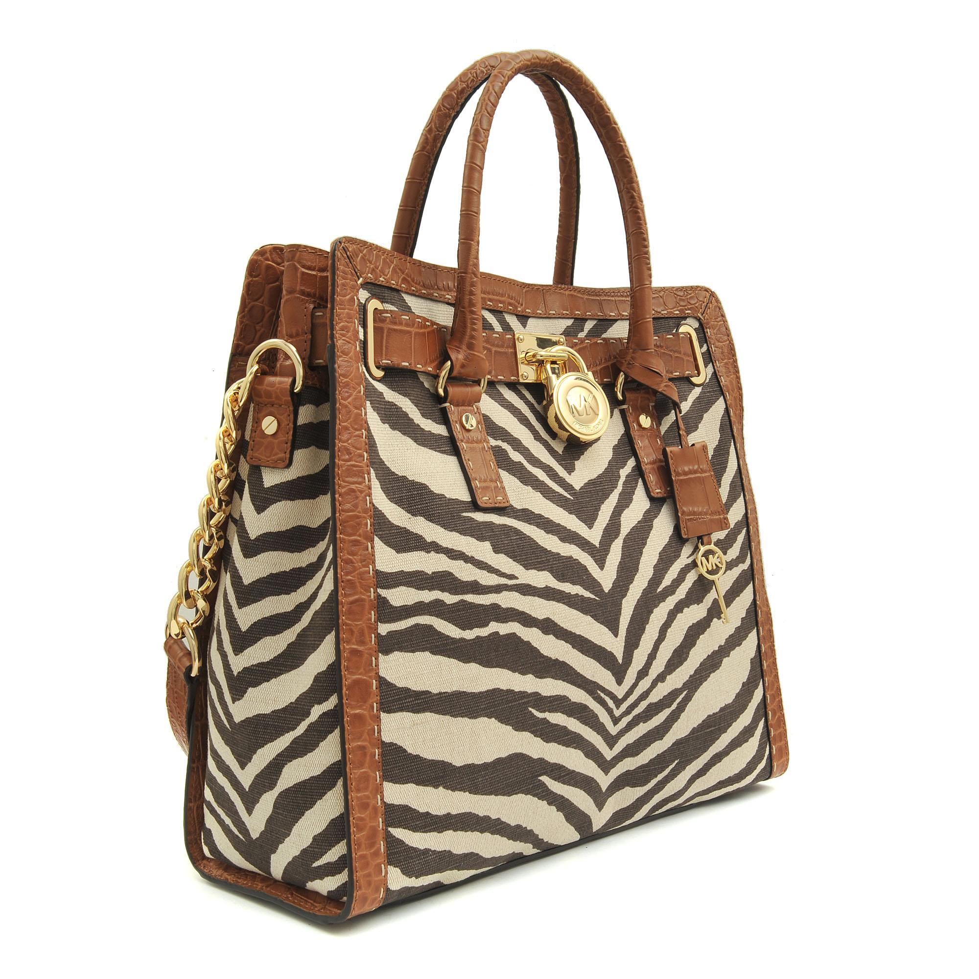 Tiger Print Luggage