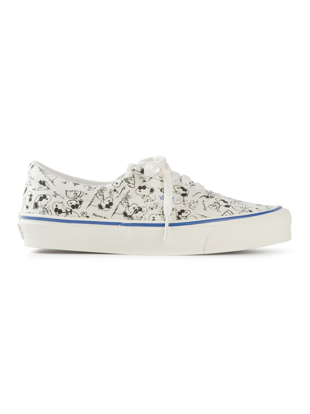 327b5d3329 Lyst - Vans  Snoopy  Sneakers in White for Men