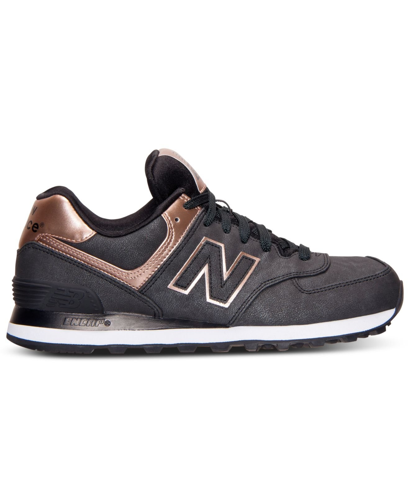 new balance rose gold metallic