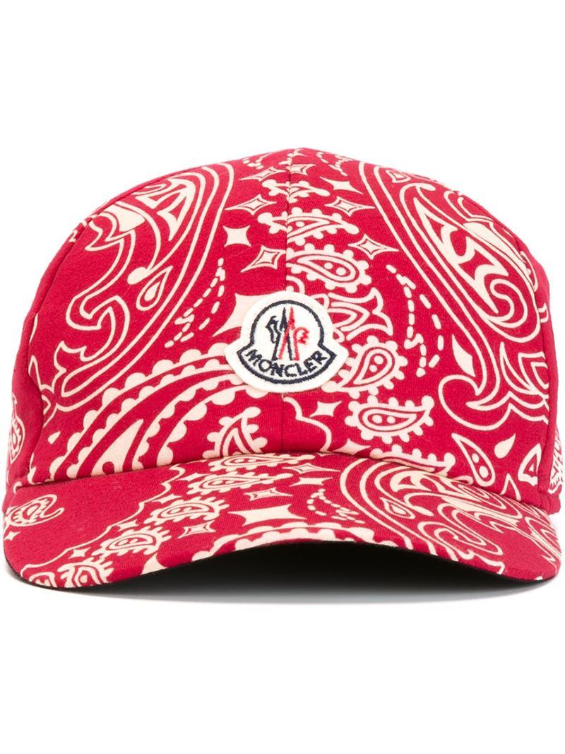moncler camo bucket hat