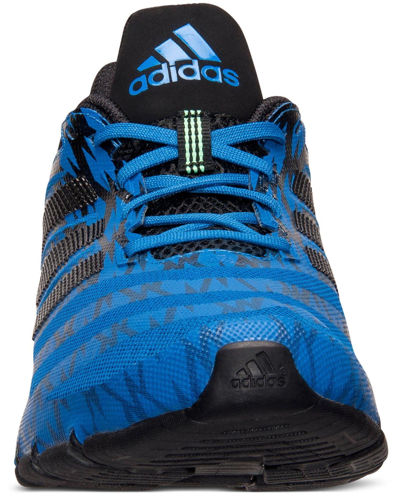 new concept 176f0 caa42 ... adidas springblade ignite sky blue black ...