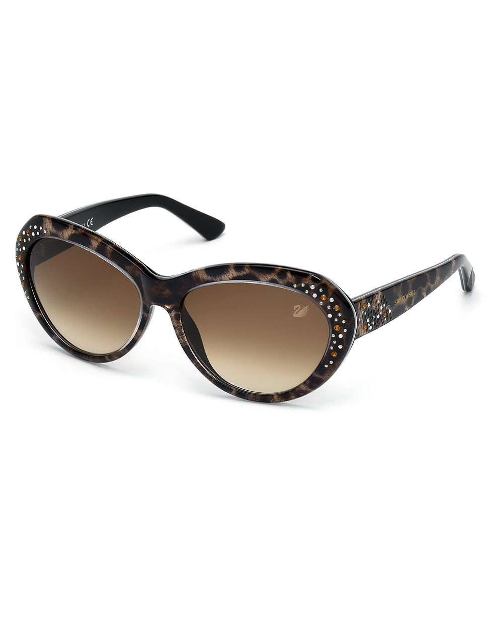 swarovski darling cateye sunglasses lyst