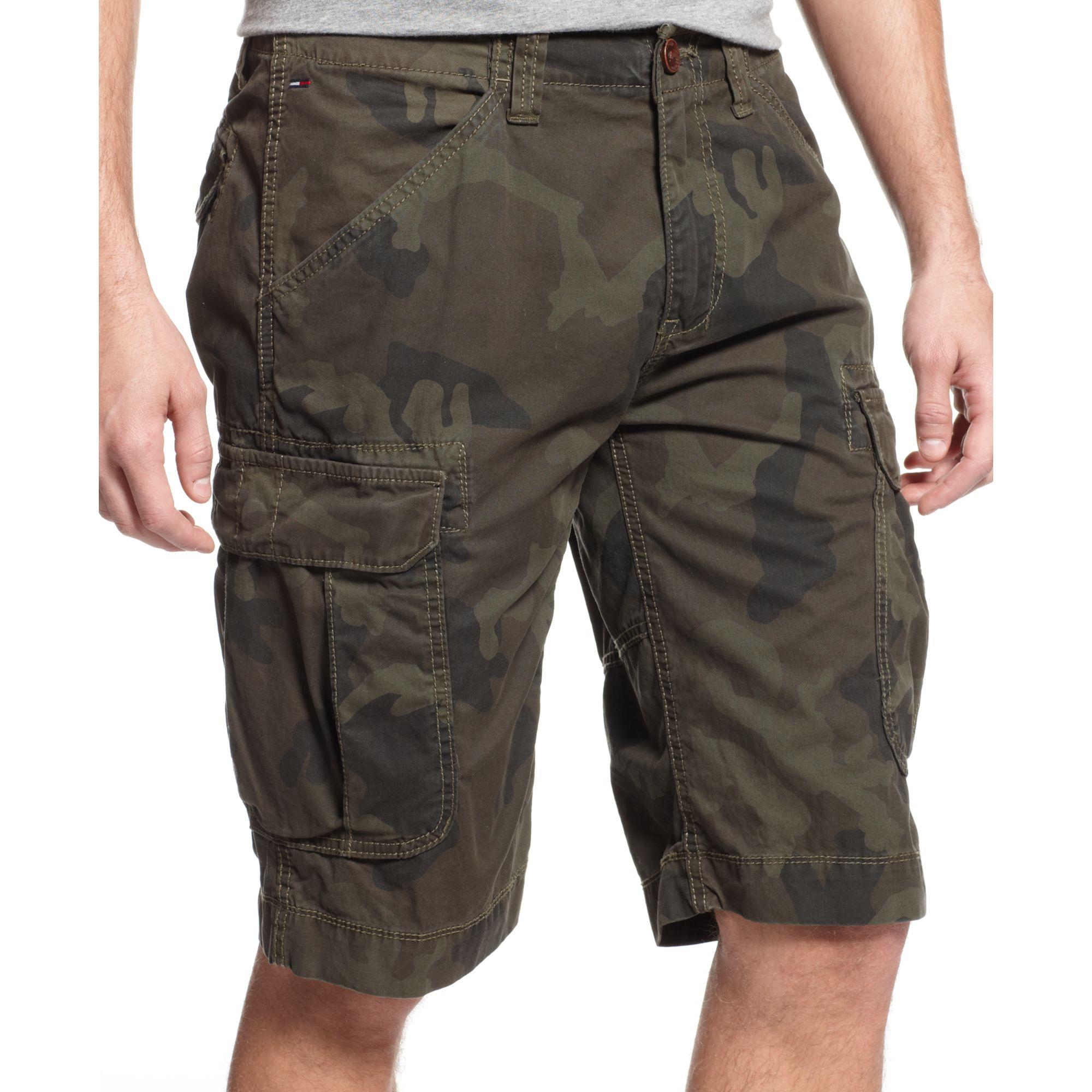Tommy hilfiger Awol Camouflage Cargo Shorts Hilfiger Denim