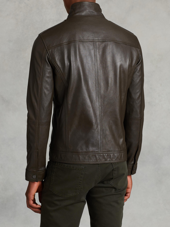 John varvatos leather jacket