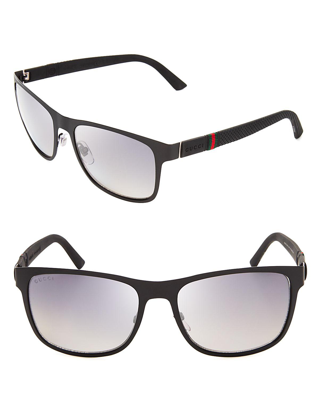 b4f8af0a84 Gucci Polarized Wayfarer Sunglasses in Black for Men - Lyst
