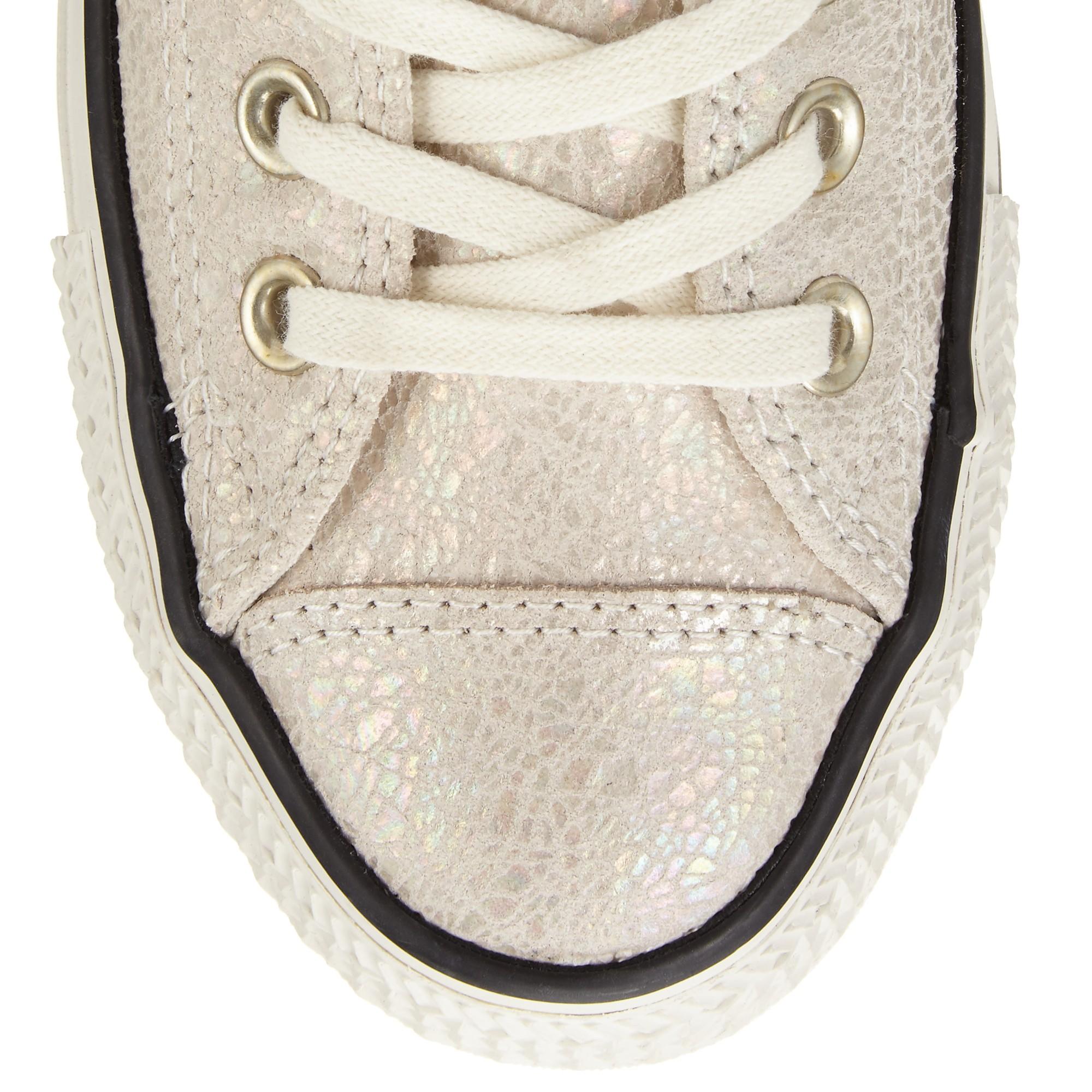 Oil Slick Flat Shoes