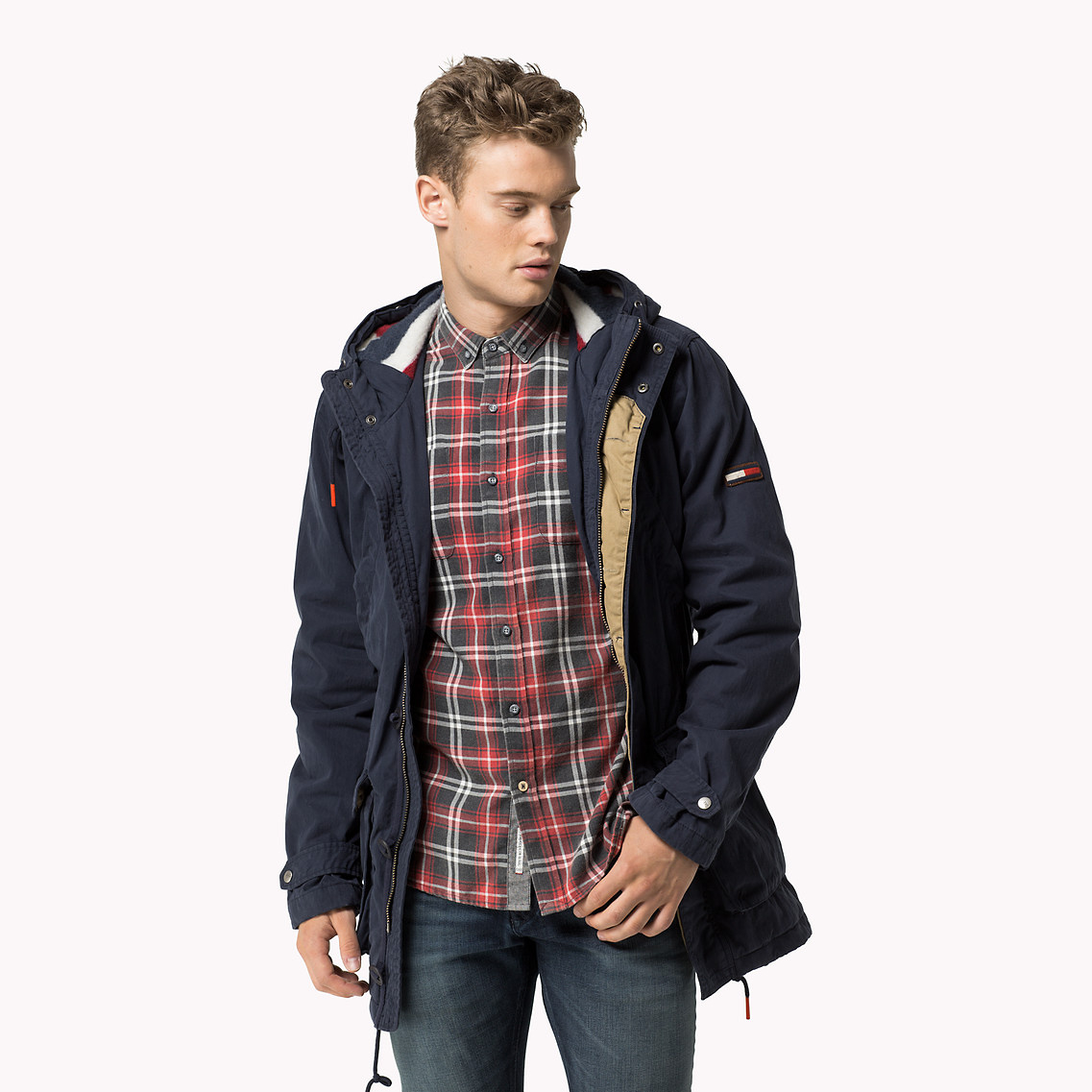 Tommy hilfiger jeansjacke camouflage