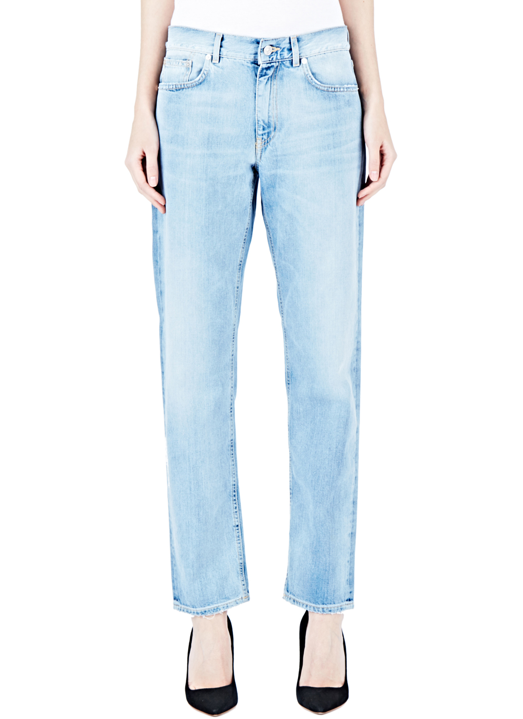 acne studios boy water jeans in blue lyst. Black Bedroom Furniture Sets. Home Design Ideas