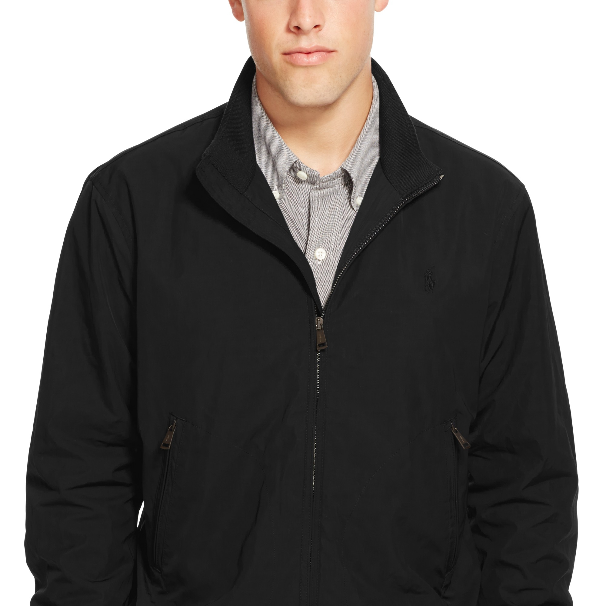 56bc2ed7e64929 Pink Pony Polo Barracuda Lined Jacket in Black for Men - Lyst