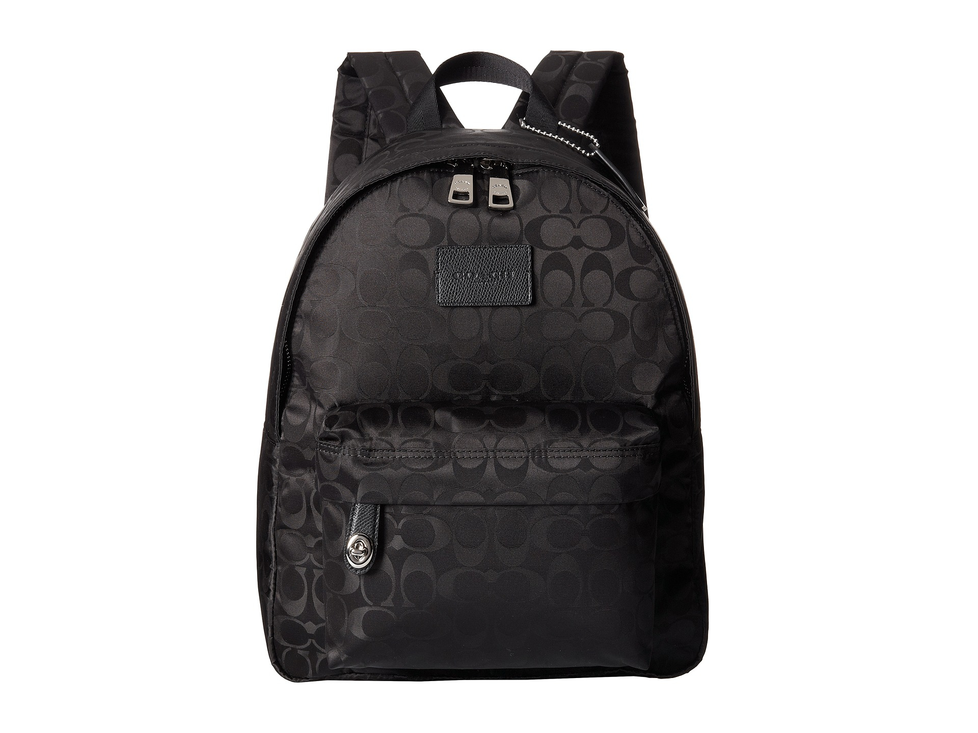 Coach Nylon Small Backpack in Black | Lyst