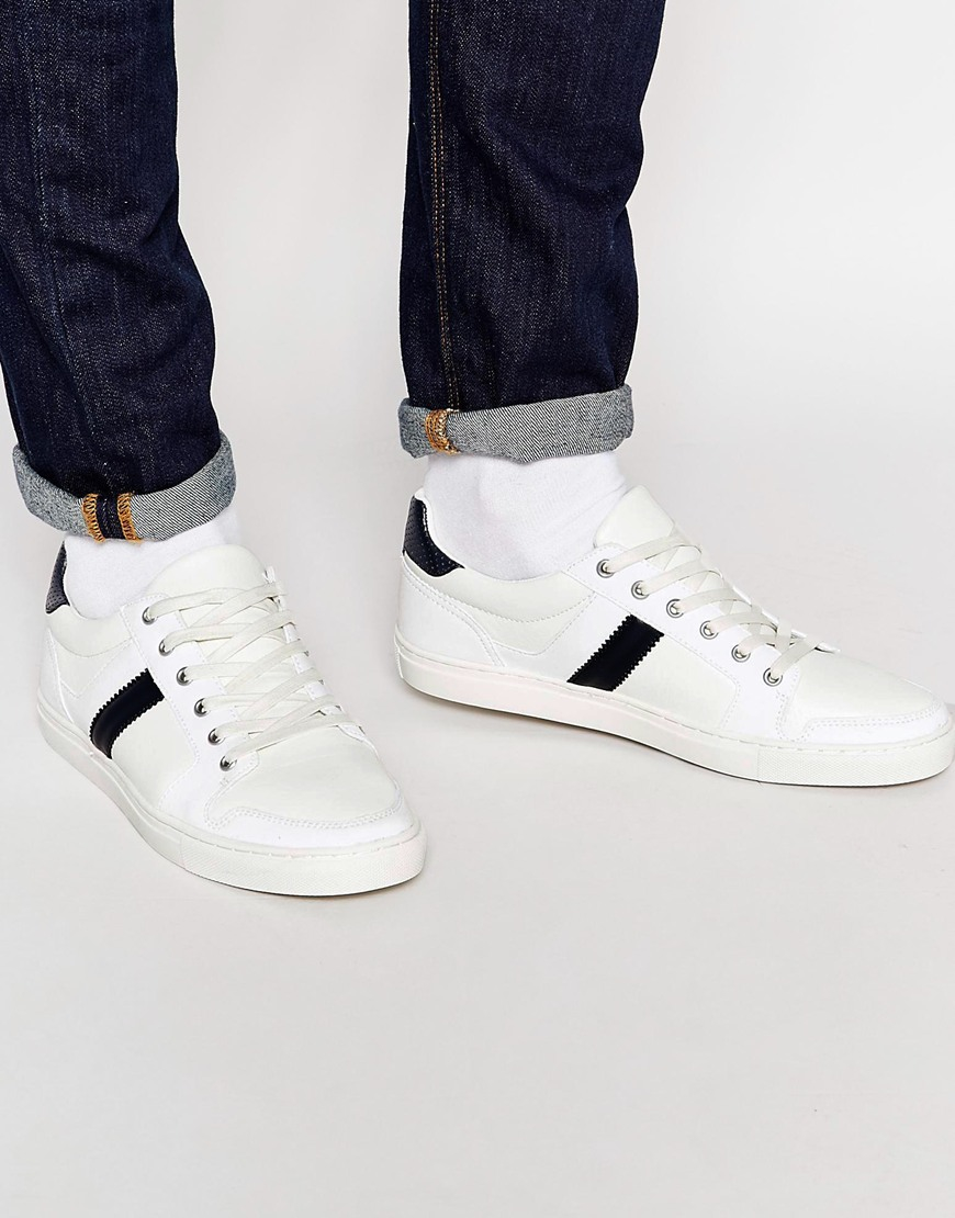 Outlet With Credit Card Cheap Sale Factory Outlet DESIGN Trainers In Tonal Off White With Chunky Sole - White Asos AxG2aD8