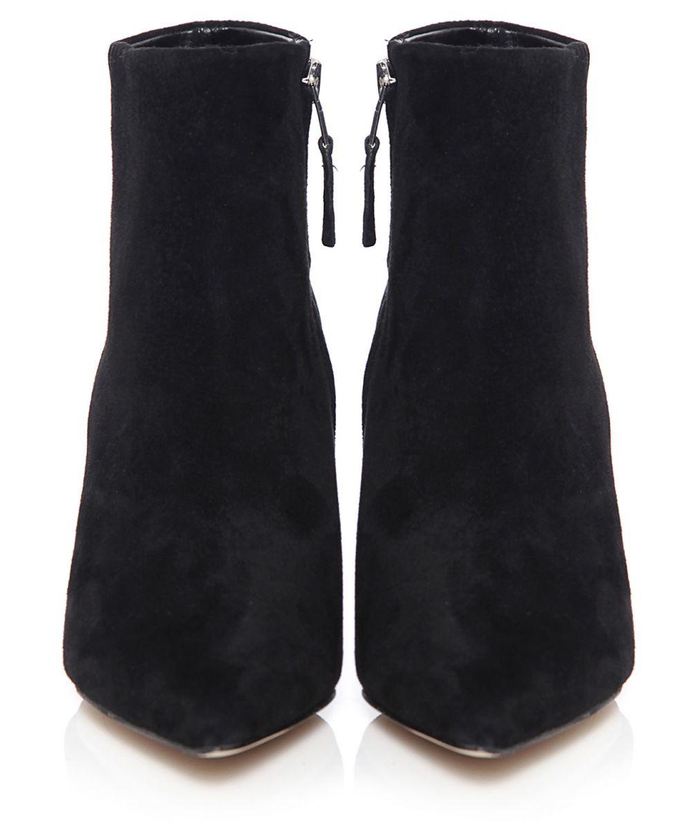 sam edelman suede boots in black lyst