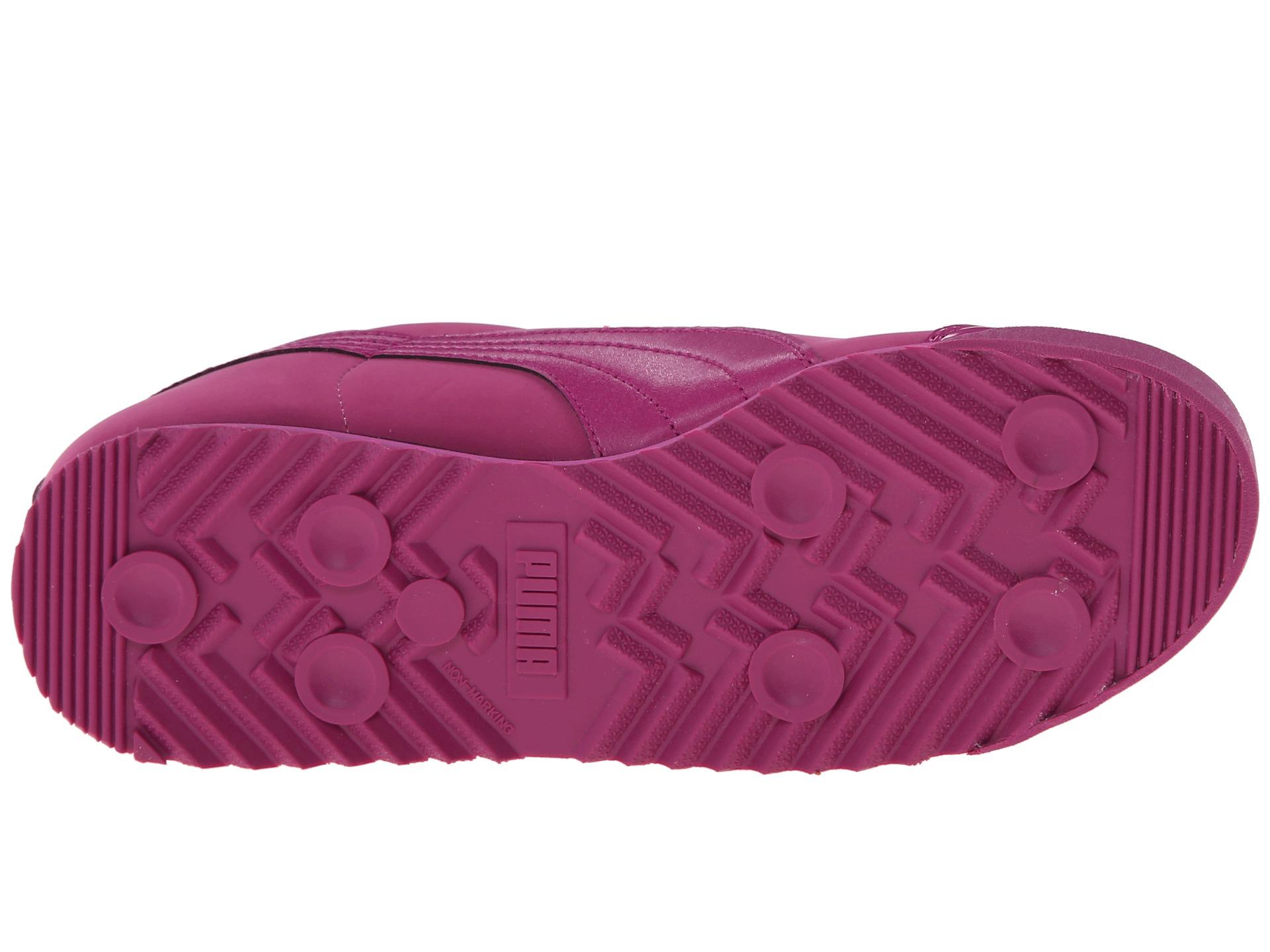 e91b105fa370 Lyst - PUMA Roma Nbk Patent in Pink