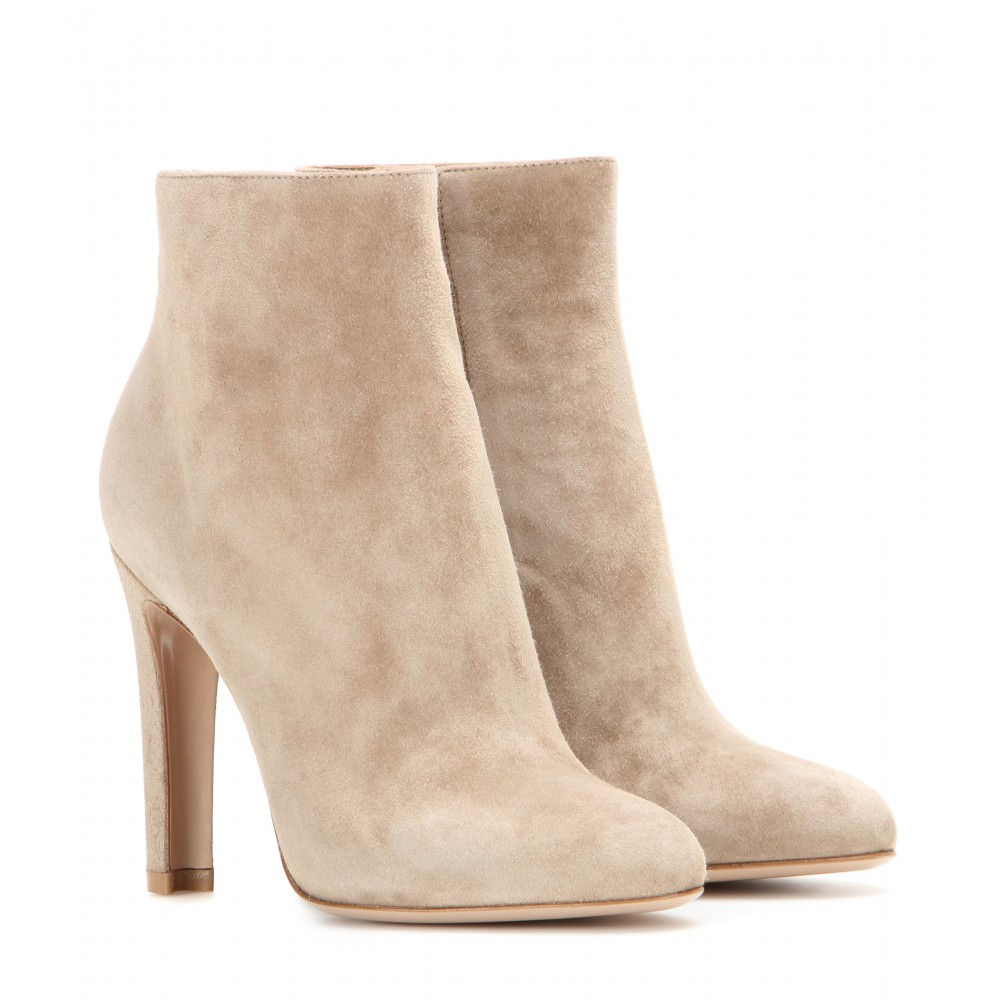 outlet new sale best Gianvito Rossi Suede Mid-Calf Boots outlet purchase Xqa7Y00s