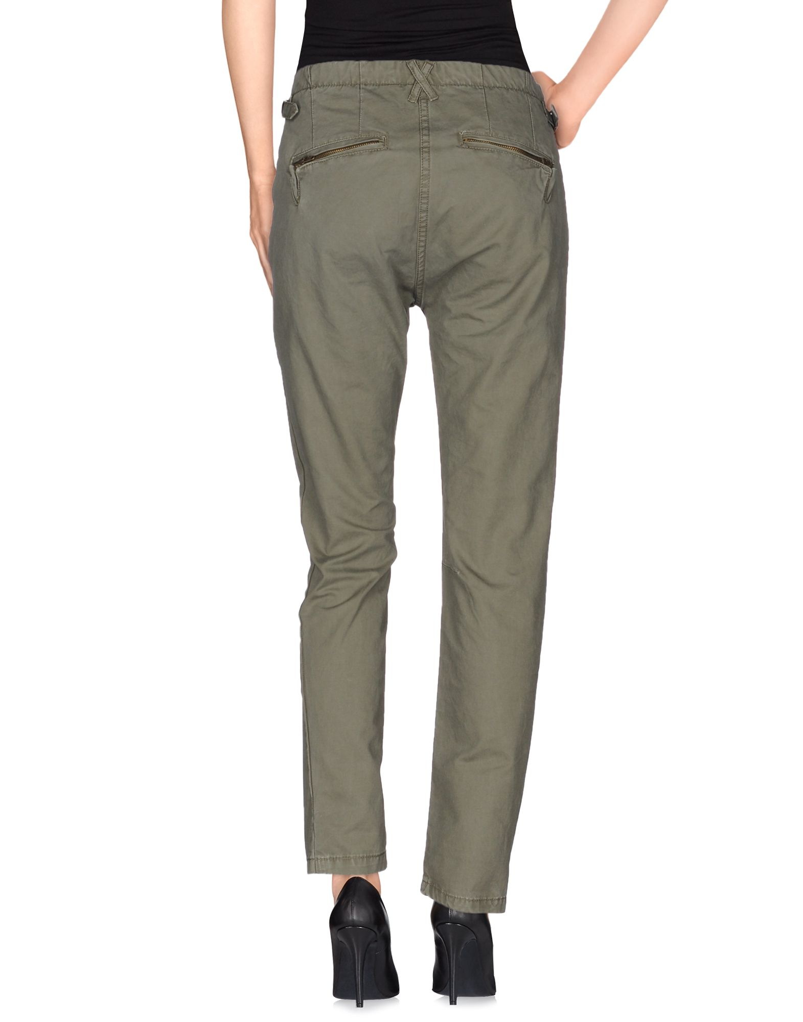 Lyst maison scotch casual trouser in green for About maison scotch