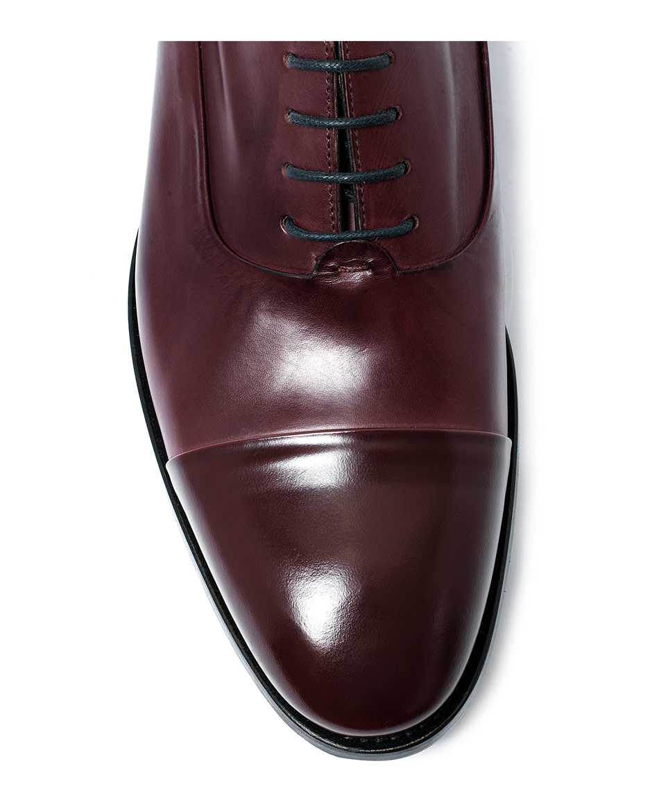 Maroon Dress Shoes