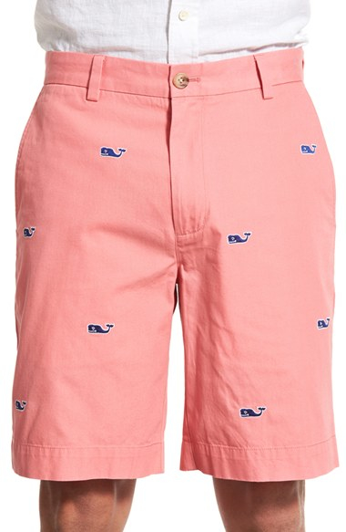 64aa7ea4ac Lyst - Vineyard Vines  whale - Breaker  Embroidered Cotton Shorts in ...