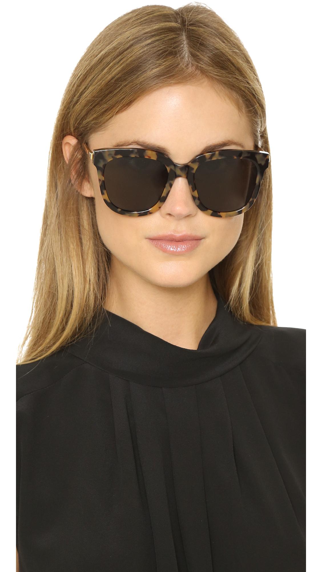 19ec740511 Gentle Monster Absente Sunglasses - Tortoise grey in Gray - Lyst
