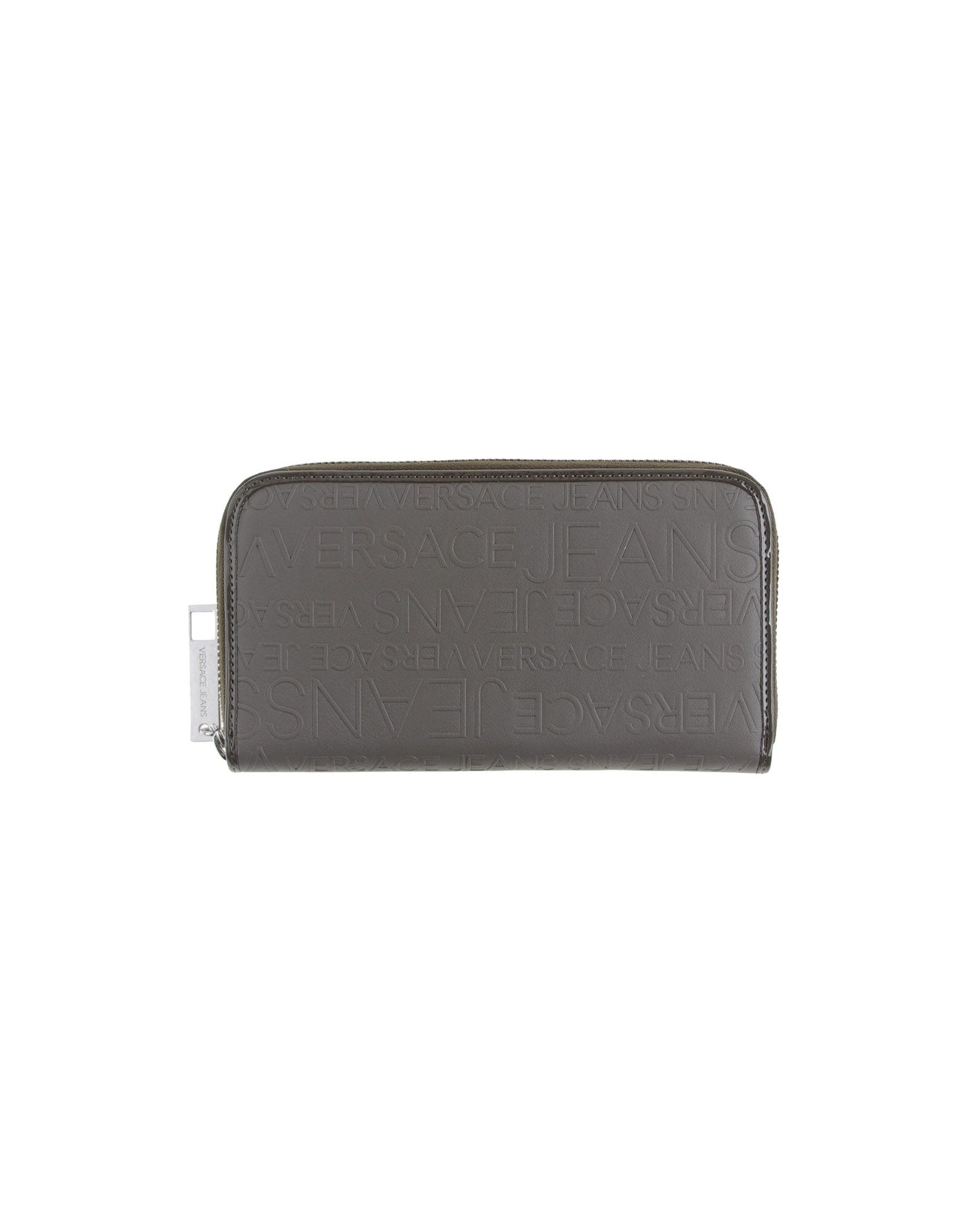 Versace Jeans Wallet In Gray For Men Lyst
