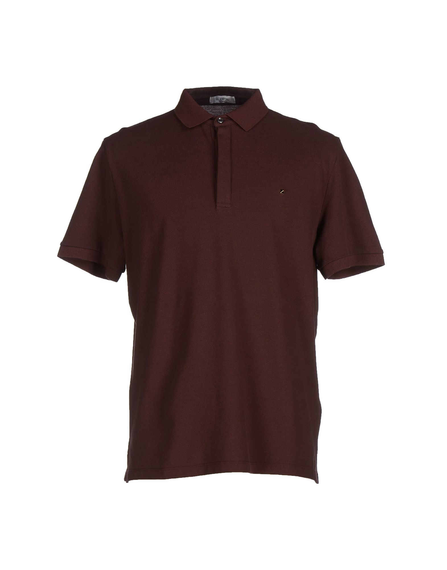 Valentino Polo Shirt In Brown For Men Cocoa Lyst