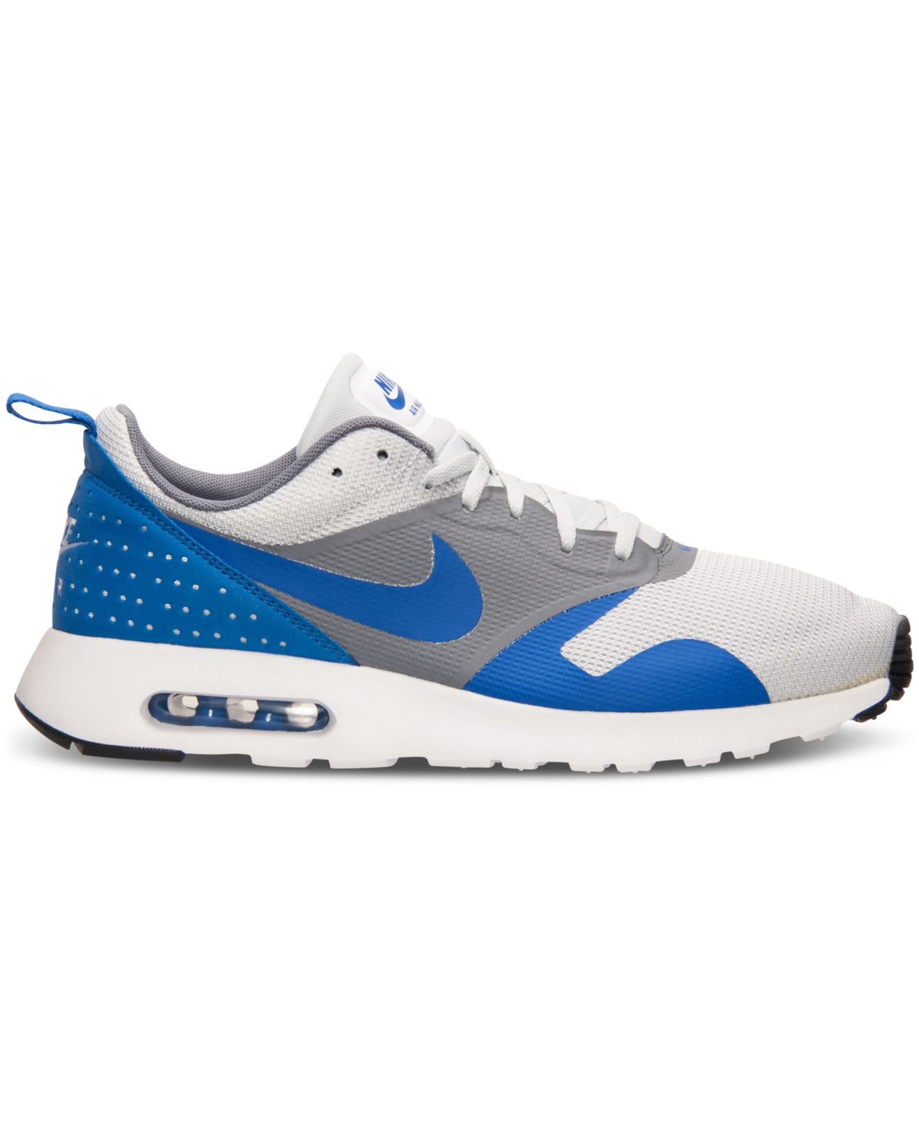 low priced 66a35 b62b4 ... Lyst - Nike Mens Air Max Tavas Running Sneakers From Finish Line in  Blue for Men ...