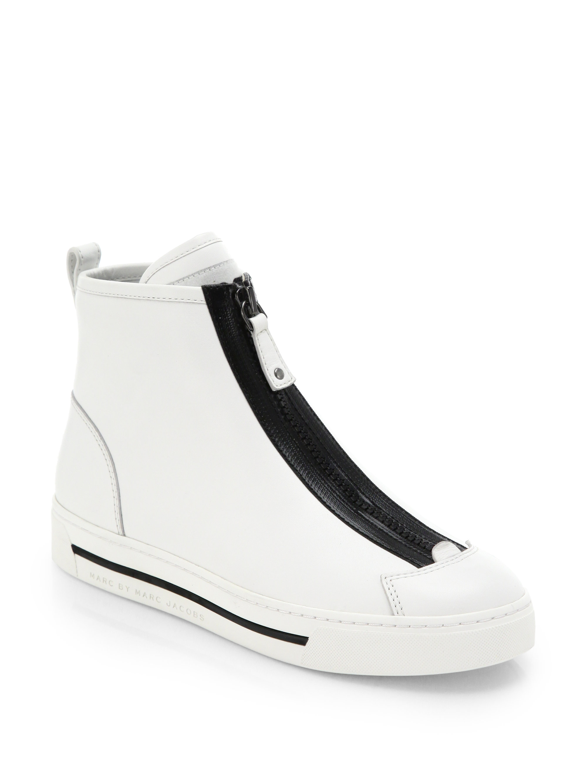 White Leather Heels River Island