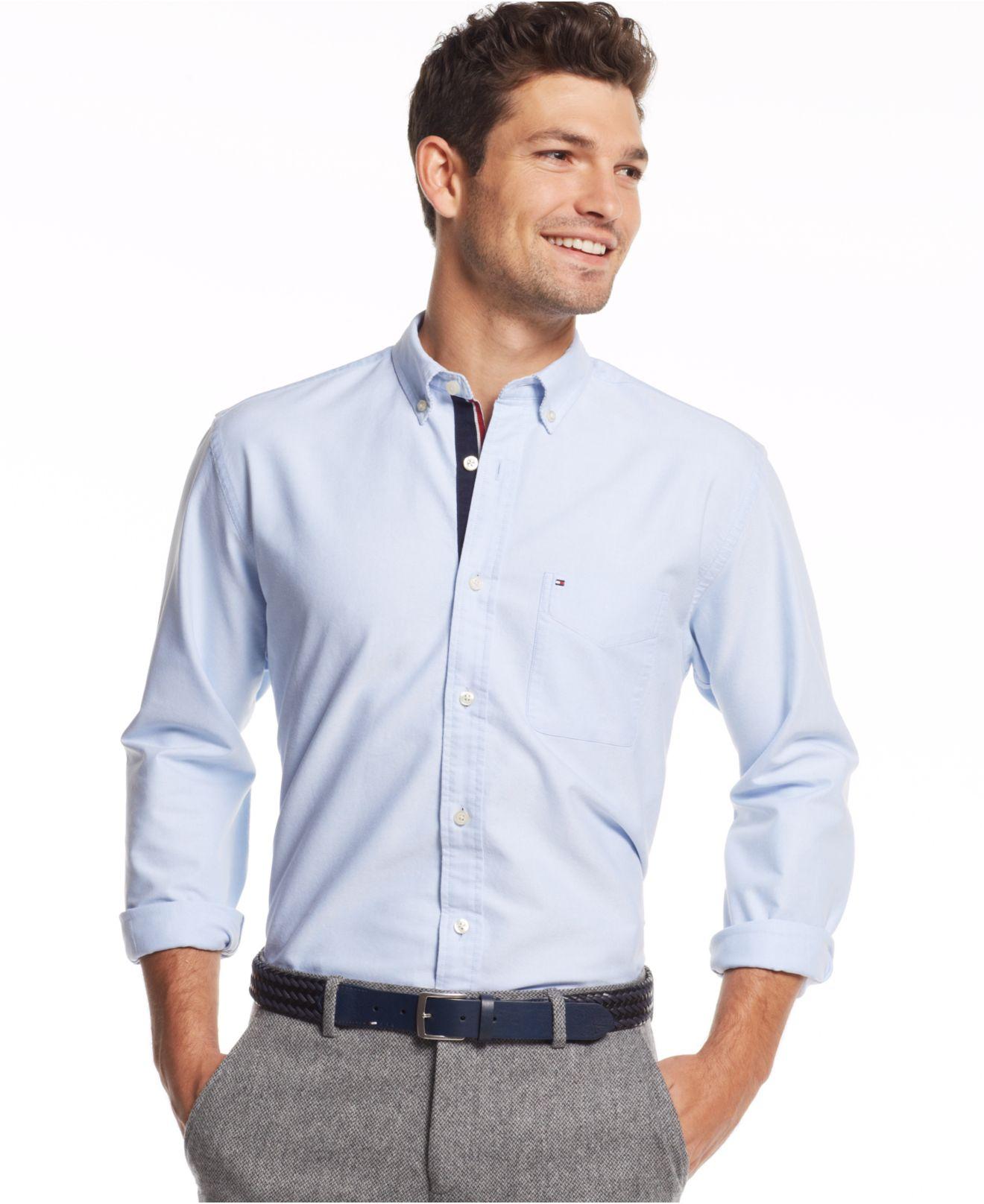 58940bb9d Gallery. Previously sold at  Macy s · Men s Mandarin Collar Shirts Men s Short  Sleeve ...
