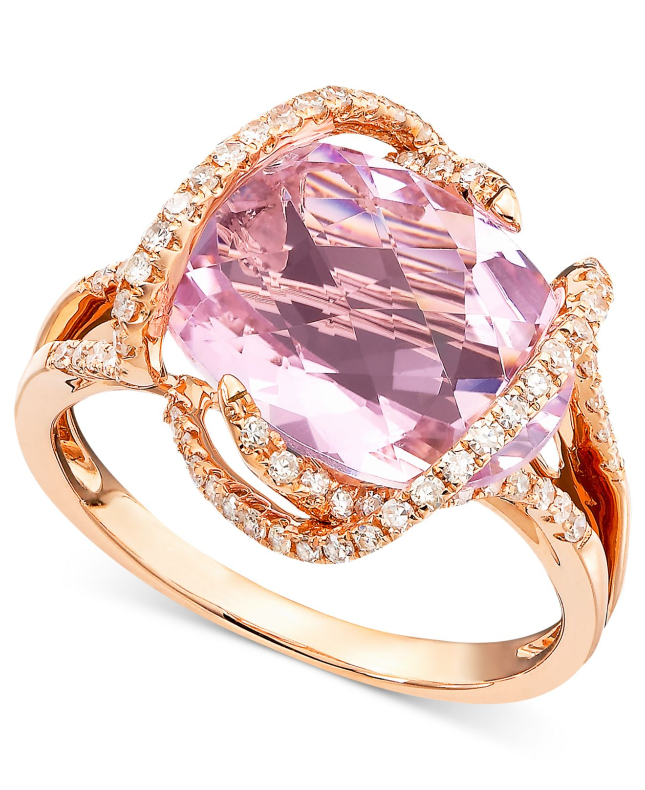 Lyst - Effy Collection Gemma By Effy Pink Amethyst (7-3/4 Ct. T.w. ...