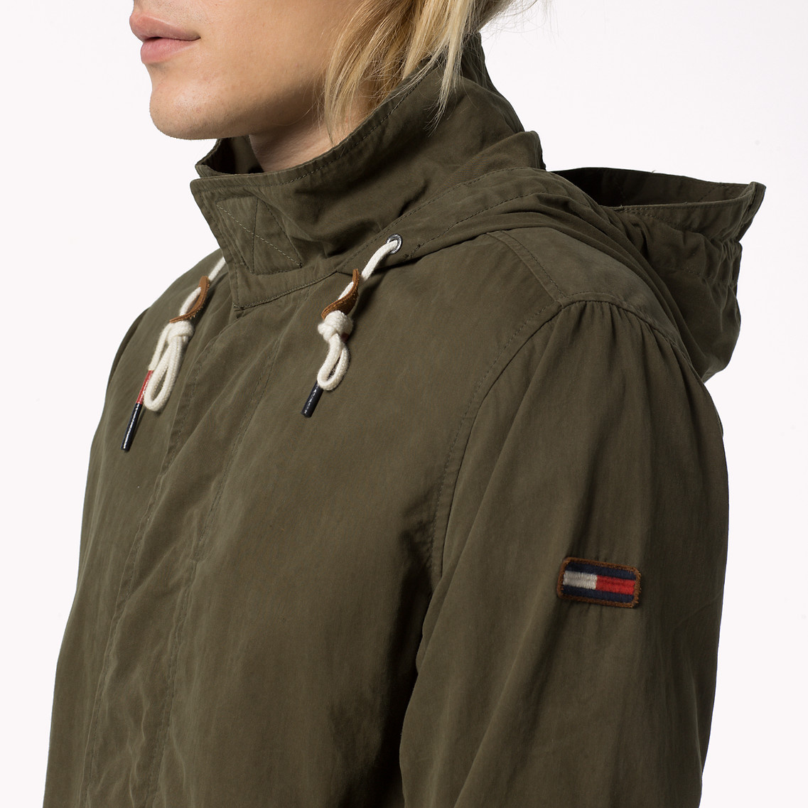 Tommy Hilfiger LIGHT WEIGHT - Parka - green Professionnel En Ligne EWqUy7xP