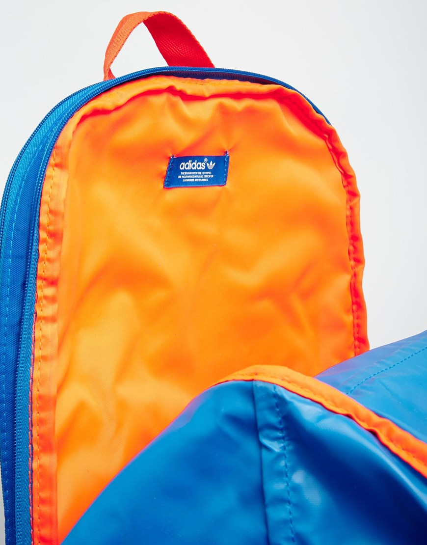 67dbe65a6419 Lyst - adidas Originals Zx Backpack in Blue for Men