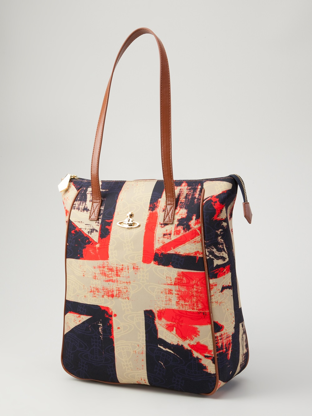 5a8bb0202fc447 Lyst - Vivienne Westwood Union Jack Backpack