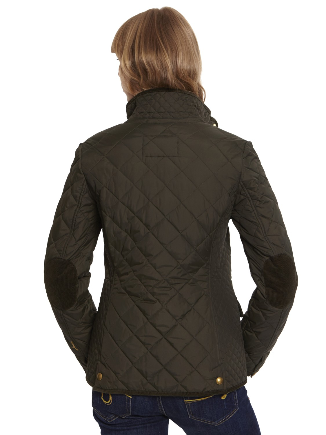 Lyst - Joules Moredale Quilted Jacket in Green : joules green quilted jacket - Adamdwight.com