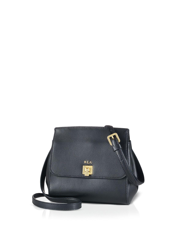 b9ce4a653563 Lyst - Ralph Lauren Lauren Crossbody - Whitby Small in Black