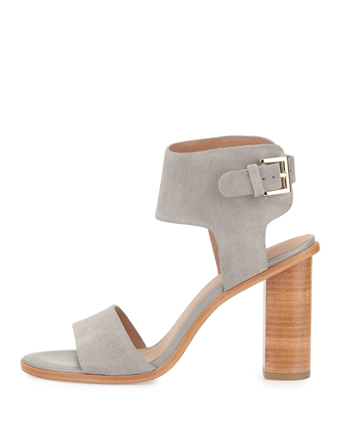 c7b624bafcd3 Lyst - Joie Opal Leather High-heel City Sandal in Gray