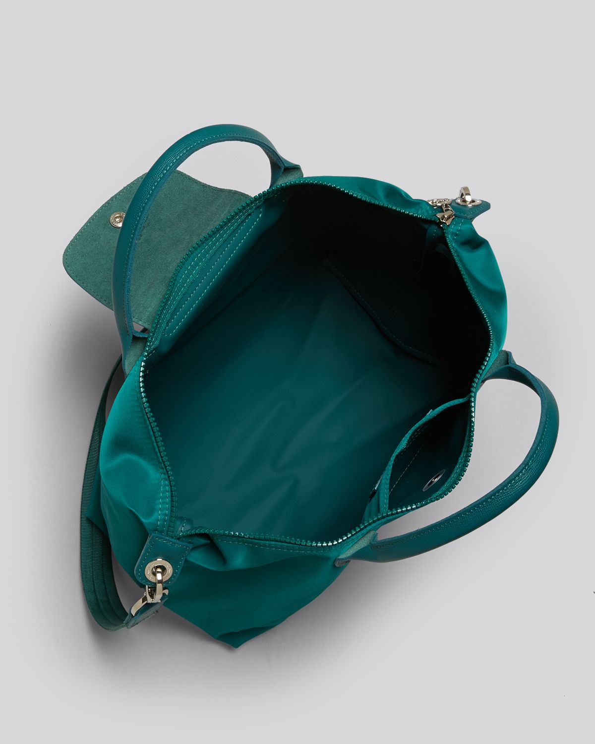Lyst Longchamp Tote Le Pliage Neo Medium In Green