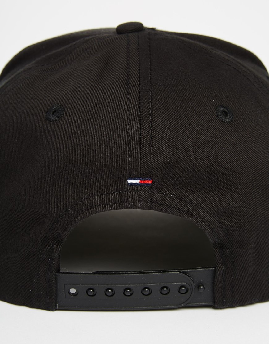 Lyst - Tommy Hilfiger Jan Cap in Black for Men c46bd3b7f72