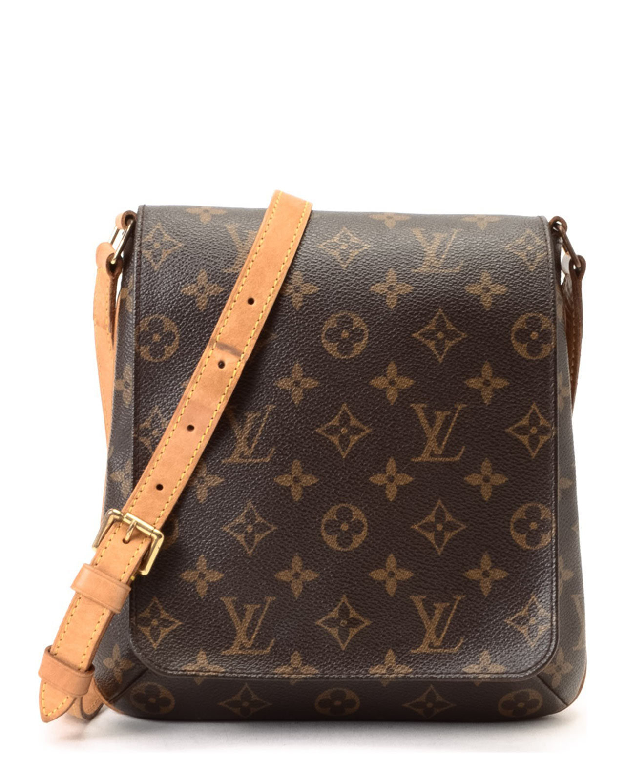 louis vuitton musette salsa long strap shoulder bag in brown lyst. Black Bedroom Furniture Sets. Home Design Ideas