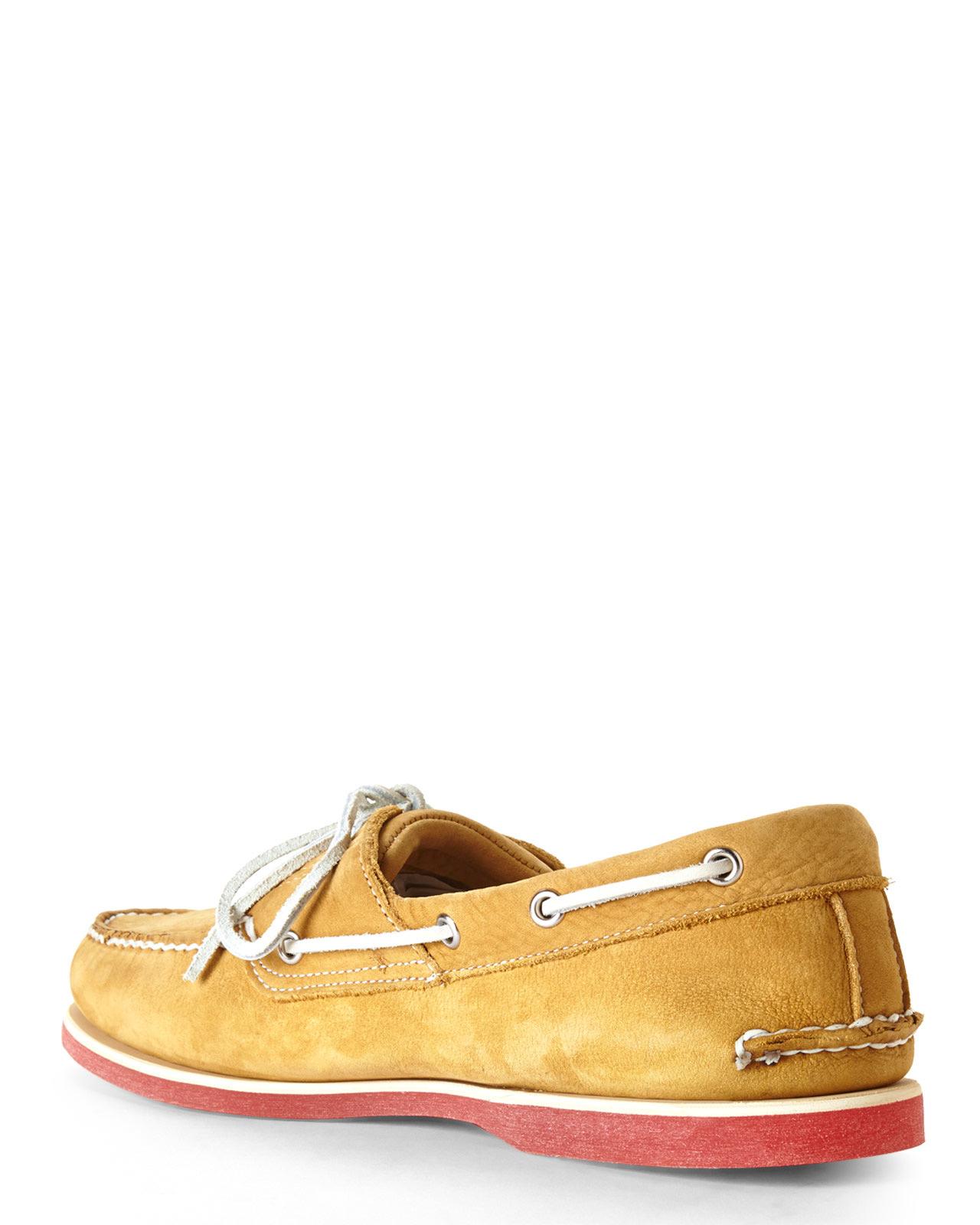Timberland Boat Shoes Heel Slip