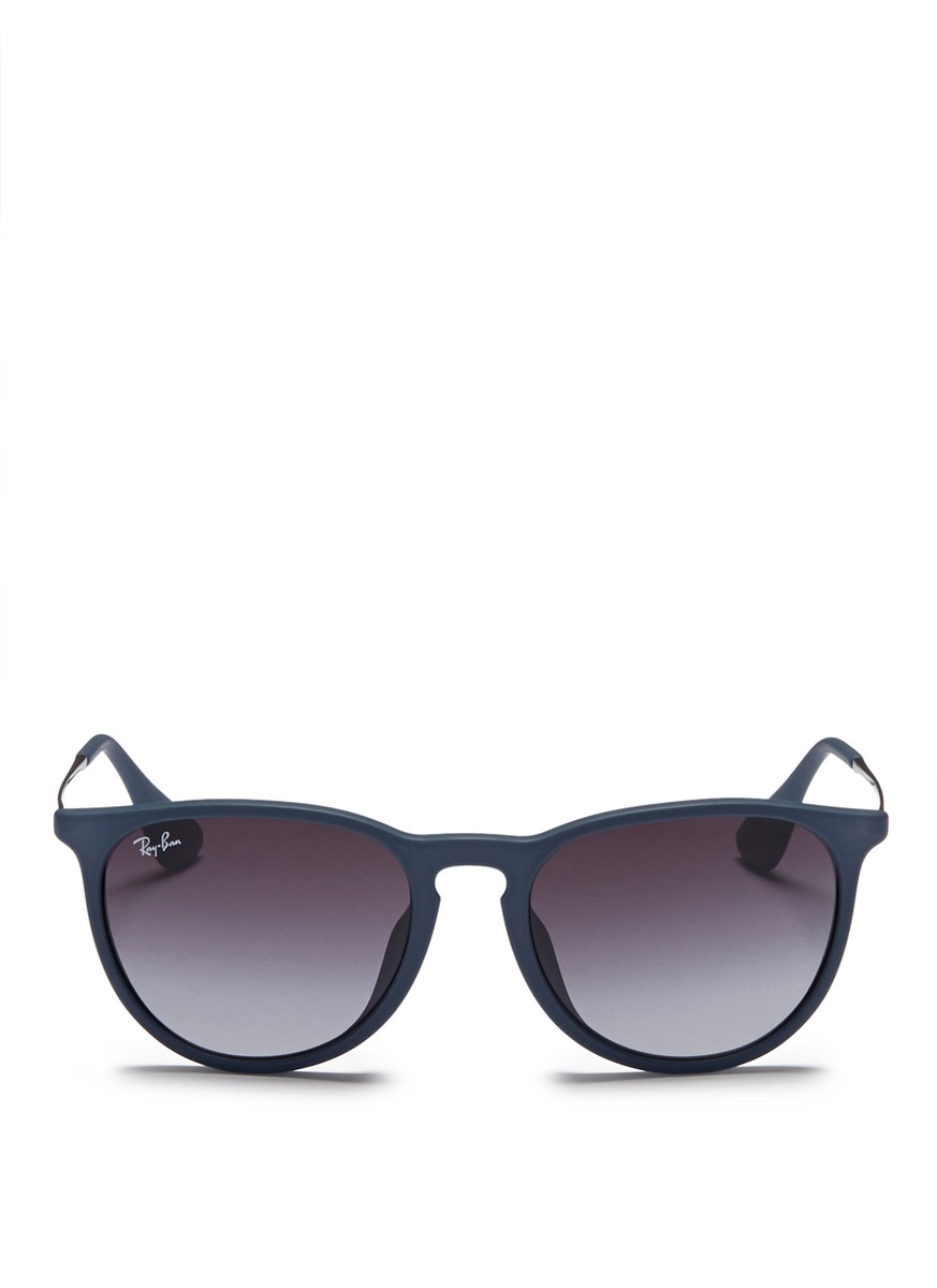 Ray Ban Wireframe Glasses : Ray-ban erika Matte Acetate Frame Wire Temple Sunglasses ...