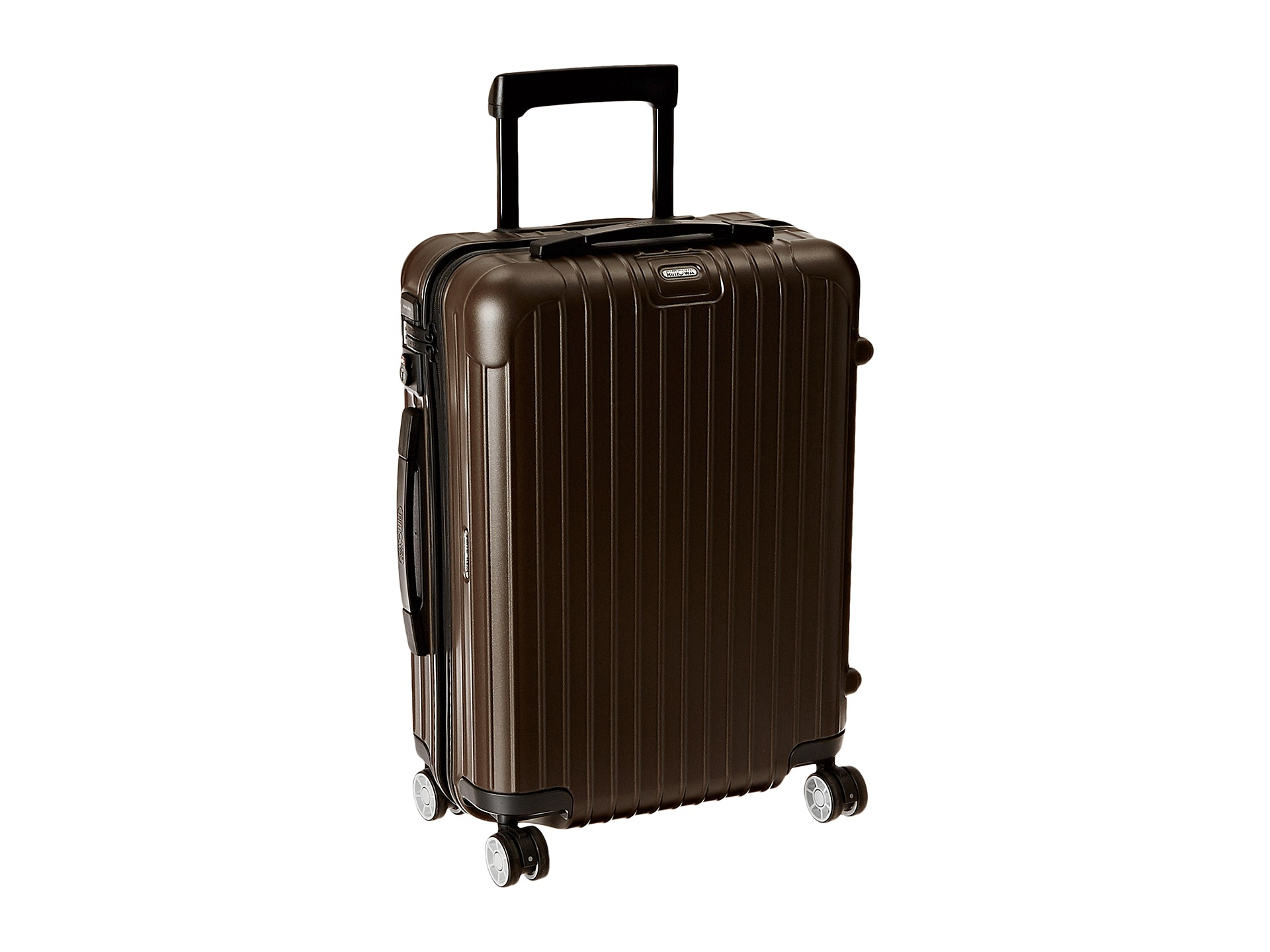 rimowa salsa 22 cabin multiwheel in brown for men lyst. Black Bedroom Furniture Sets. Home Design Ideas